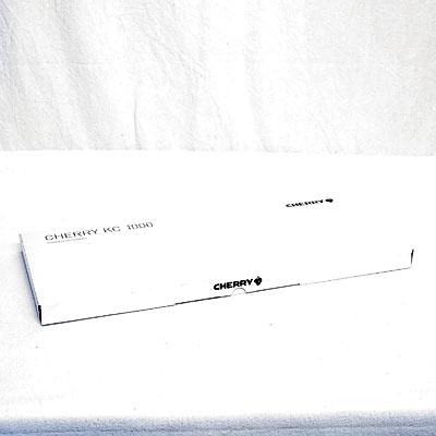 Tastatur Cherry KC 1000 grau USB