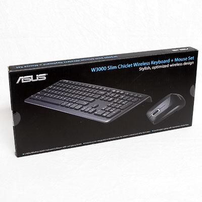 Tastatur+Mouse Set wireless ASUS W3000
