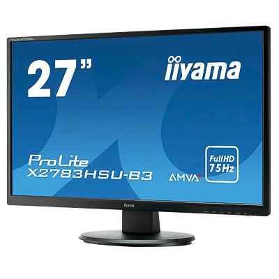 """Monitor LED 27"""" IIYAMA X2783HSU-B3 LED"""