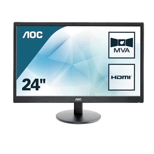 "Monitor LED 24"" AOC M2470SWH"