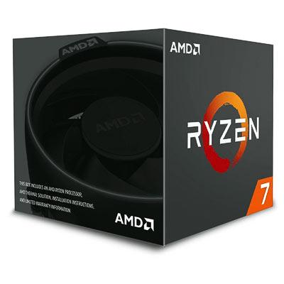 CPU AMD AM4  Ryzen 7 2700X  8x3,7Ghz Box