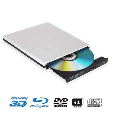 Blu-Ray Combo USB ext.Marke