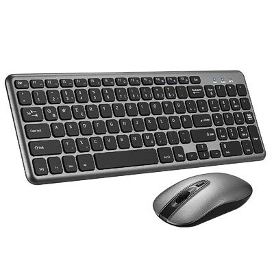 Tastatur+Mouse Set wireless Marke Slim