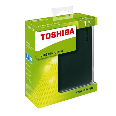 HDD ext.6,35cm 1TB Toshiba Canvio Ready