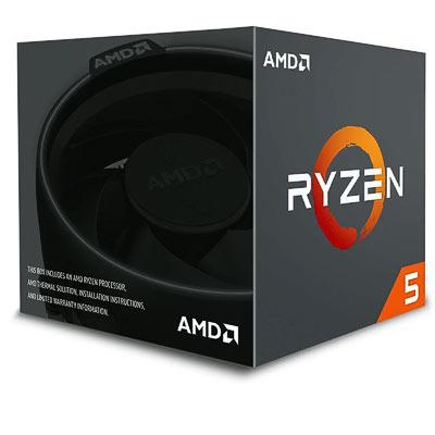 CPU AMD AM4  Ryzen 5 2600   6x3.4Ghz Box