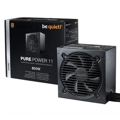 Netzteil 600W ATX BeQuiet Pure Power 11