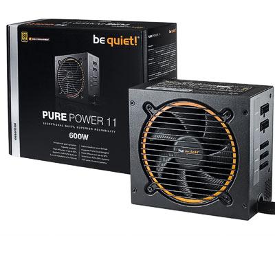 Netzteil 600W ATX BeQuiet Pure Power11CM