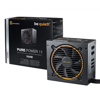 Netzteil 700W ATX BeQuiet Pure Power11CM