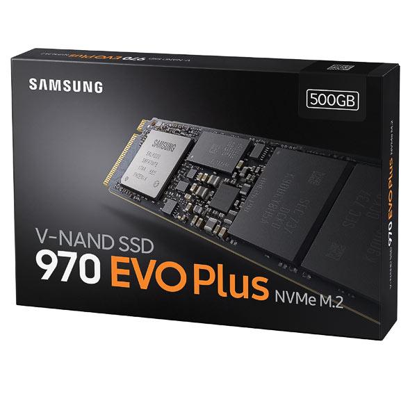 SSD M.2 NVMe 500GB Samsung 970 EVO Plus
