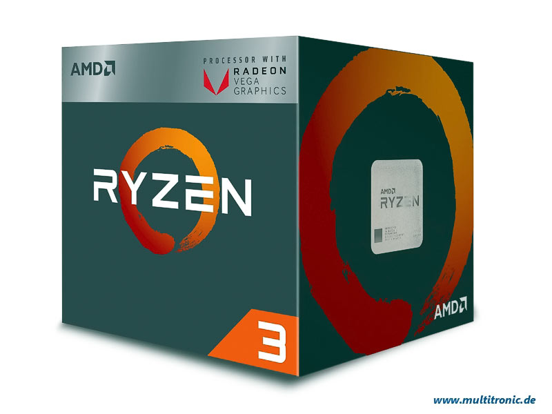 CPU AMD AM4  Ryzen 3 3200G  4x3,6Ghz Box
