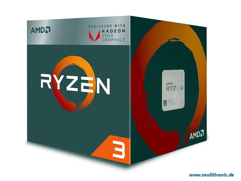 CPU AMD AM4  Ryzen 3 3200G  4x3,6Ghz Box