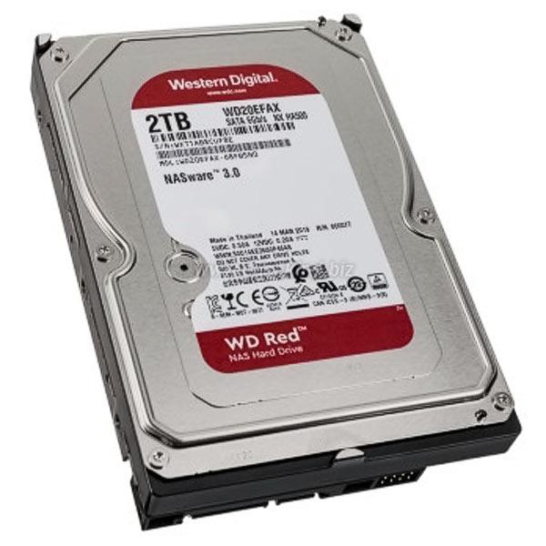 "HDD 3,5"" SATA 2,0TB WD20EFAX RED NAS"