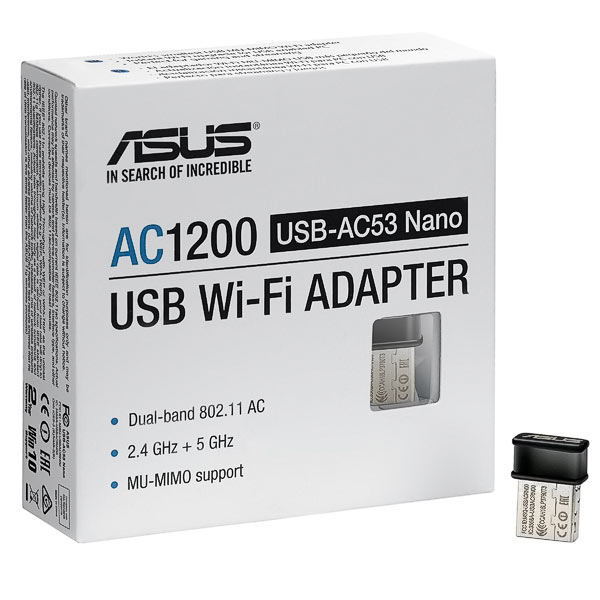 WLAN USB-Stick ASUS USB-AC53 Nano