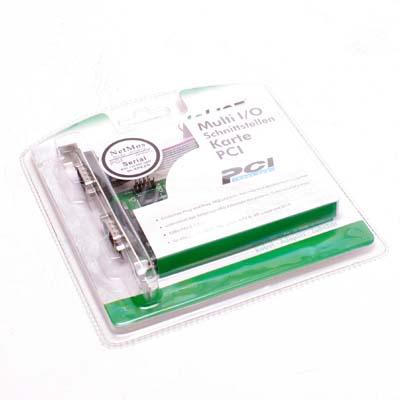 I/O Card 2x Seriell   9Pol PCI