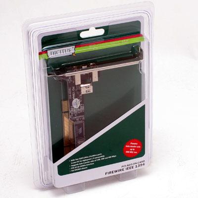 Fire Wire Steckkarte FireWire 400 PCI