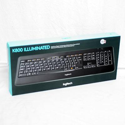 Tastatur Logitech K800 Illuminated