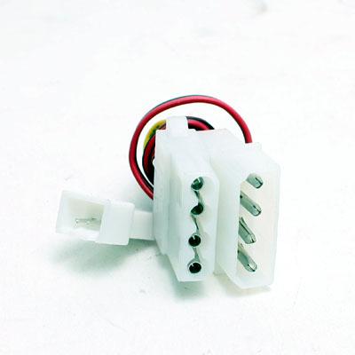 ZKabel Lüfter Adapter 4Pol Molex zu 3Pol