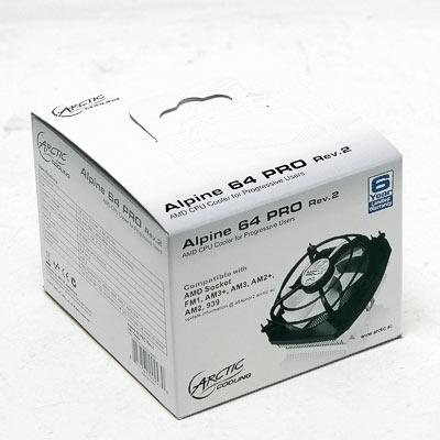 Kühler Arctic Alpine 64 GT